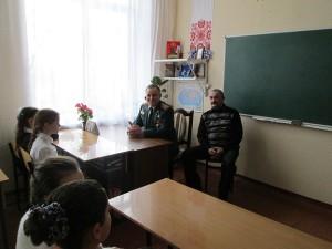 Почесні гості Кулик Г.І. та Гопкало М. В. на виховній годині