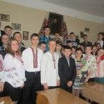 Учасники конкурсу читців поезій Шевченка