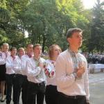 Урочисто звучить Гімн України